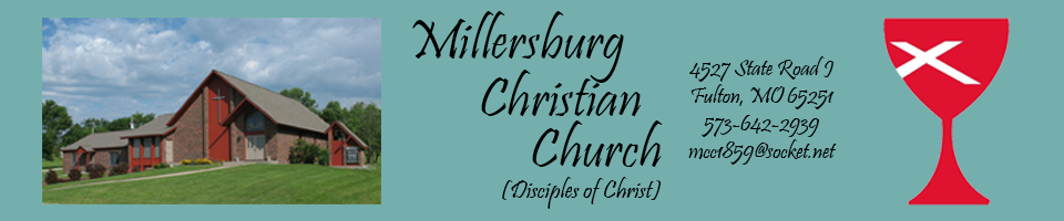 Millersburg Christian Church (Disciples of Christ), Fulton MO